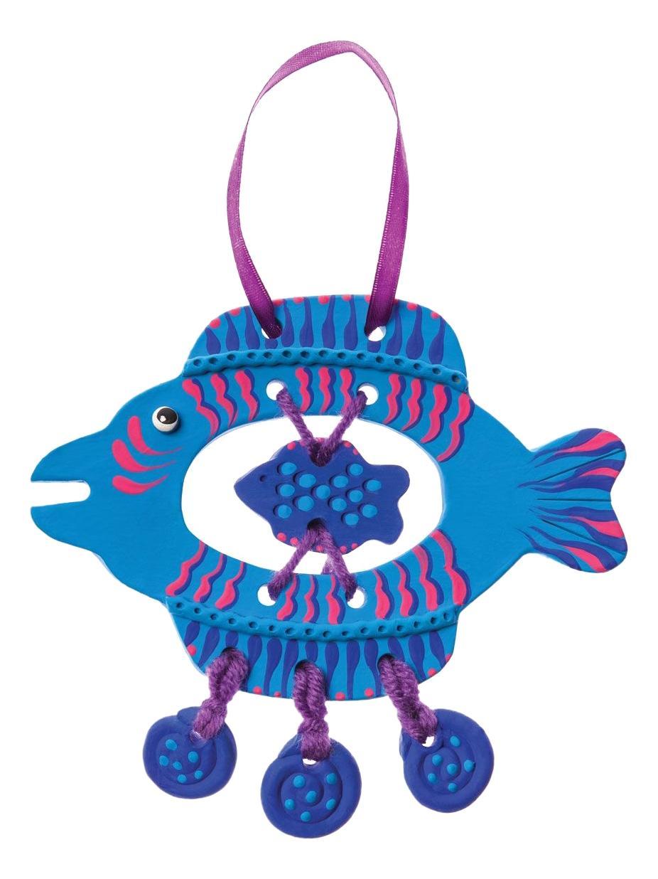 Поделка Arti Глиняная рыбка Анри фото