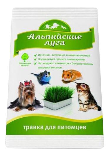 Лакомство для кошек Альпийские Луга Травка универсальная, 50г