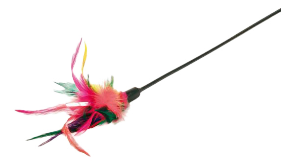 Удочка для кошек Trixie с перьями фото
