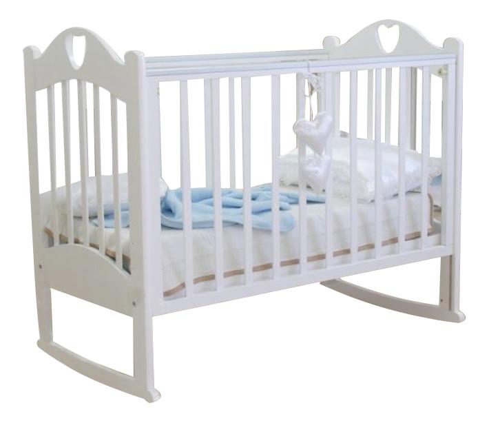 Кровать Красная звезда С-635 Любаша белый