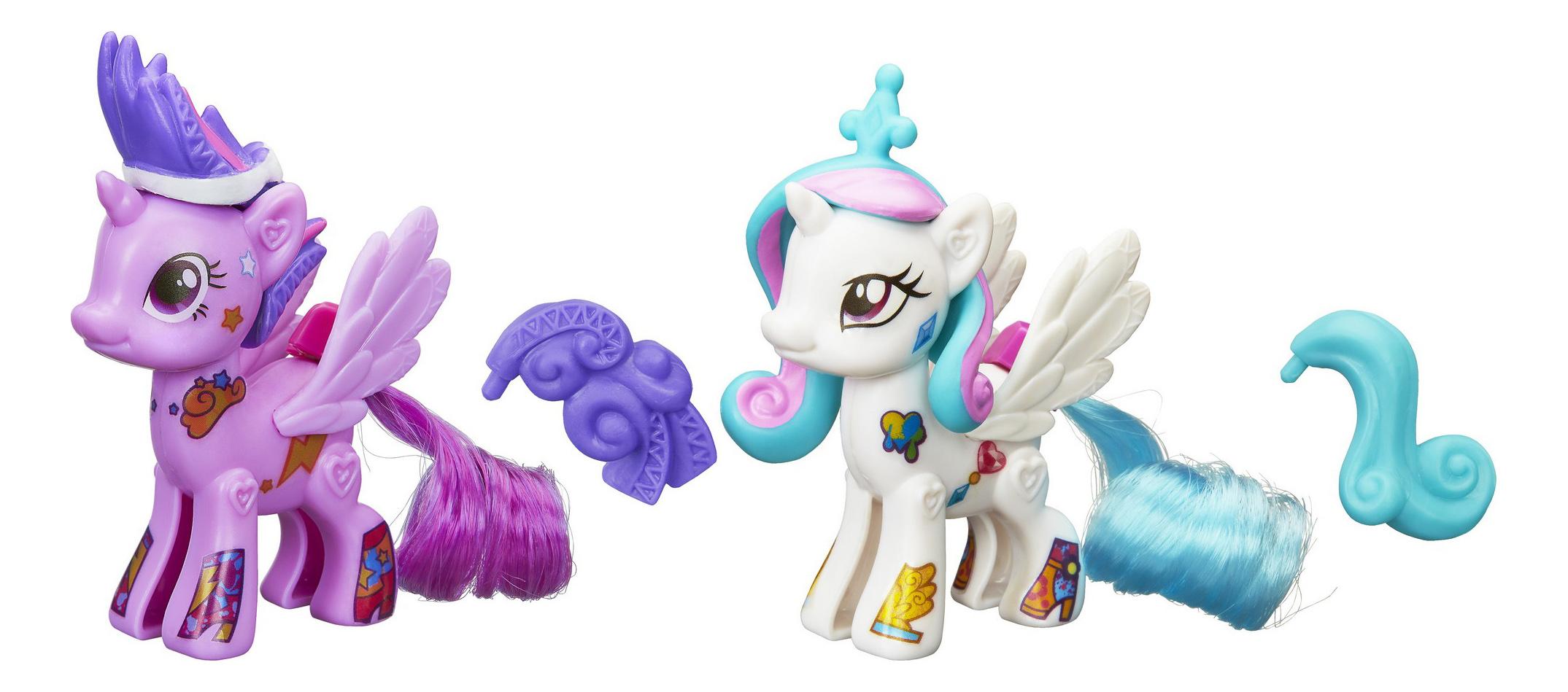 Купить Создай свою пони Celestia and Twilight Sparkle , Игровой набор MLP «Создай свою пони» Celestia and Twilight Sparkle, My little Pony, Игровые наборы