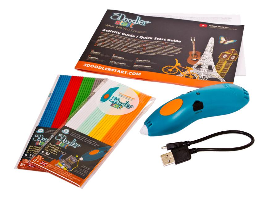 Ручка 3D 3Doodler Start подарочный набор Архитектор фото