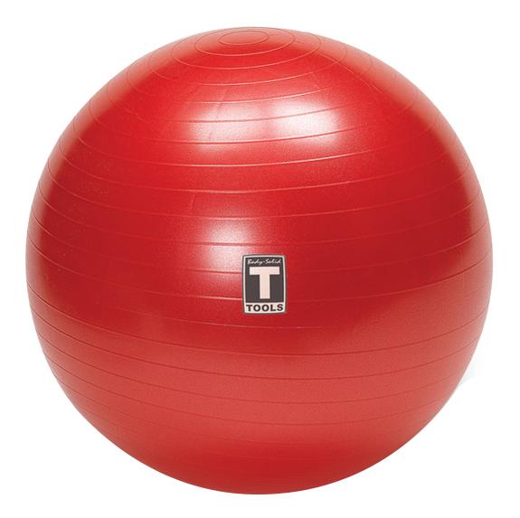 Гимнастический мяч Body Solid BSTSB65 красный 65 см