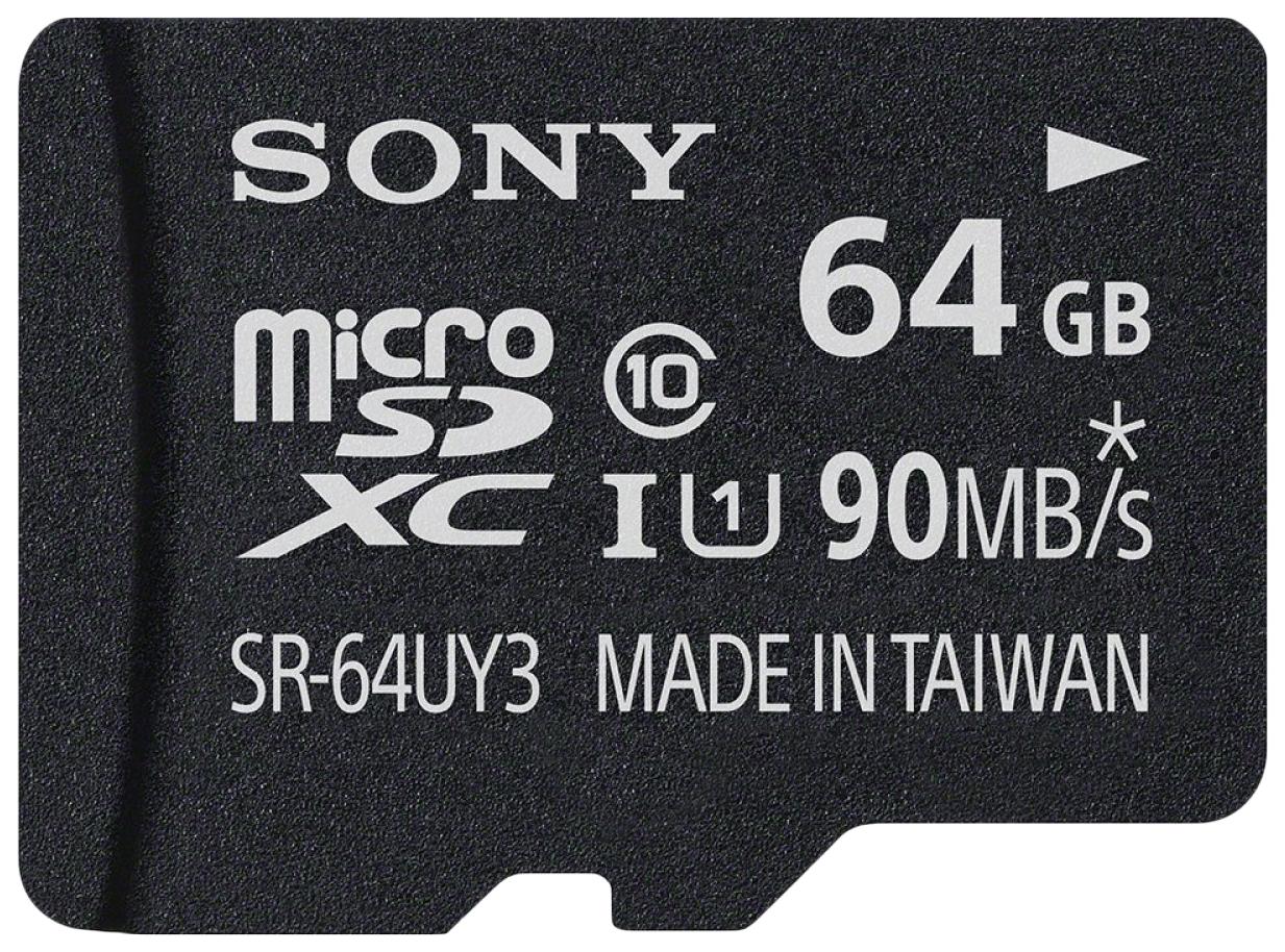 Карта памяти Sony Micro SDXC SR-UY3A SR-64UY3A 64GB SR64UY3AT
