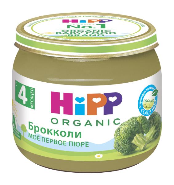 Пюре овощное HiPP Брокколи с 4 месяцев