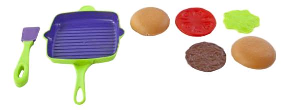 Набор посуды игрушечный Mary Poppins Набор посуды для готовки зеленый