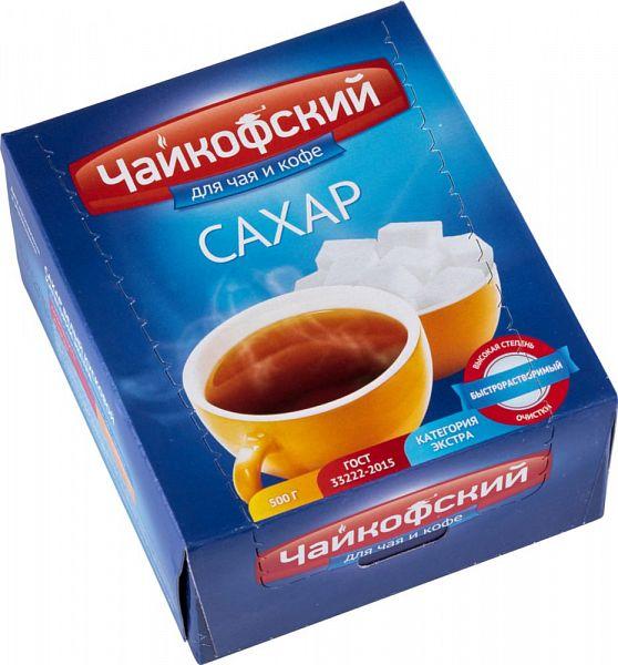 Сахар Чайкофский белый кусковой 500 г