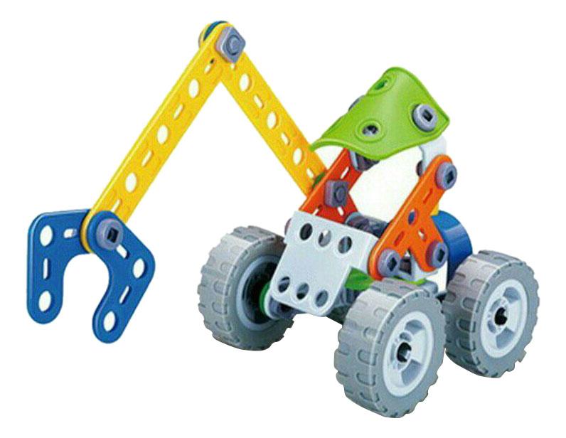 Купить Build&play экскаватор, Конструктор Build and Play Экскаватор Shantou Gepai B1569201 74 дет.,