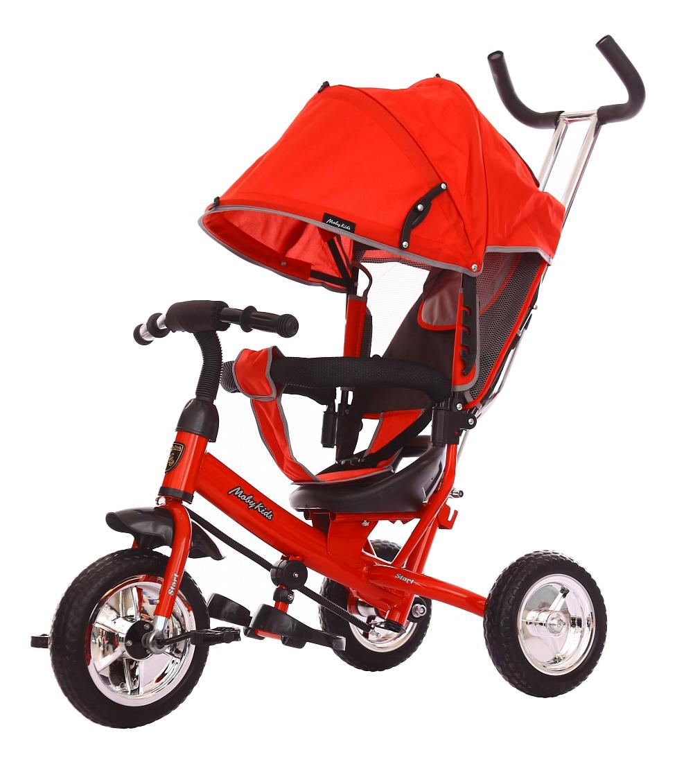 Велосипед трехколесный Moby Kids Start красный