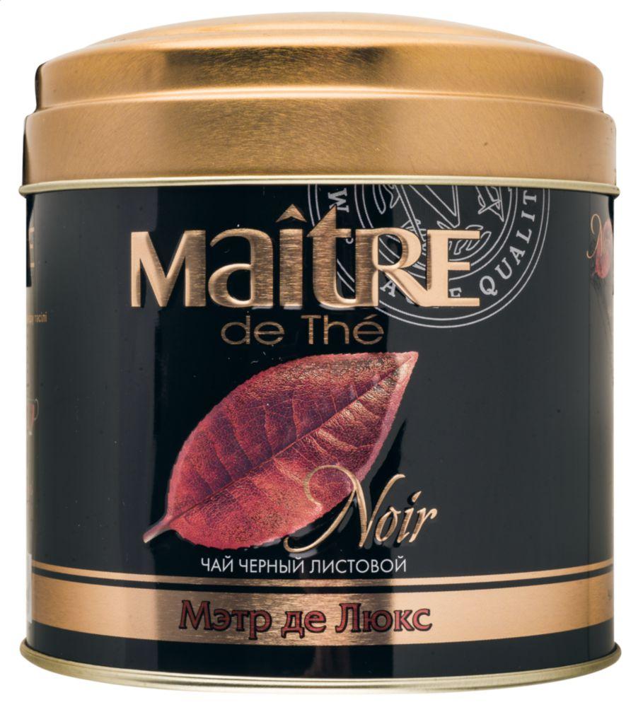 Чай черный Maitre de the мэтр де люкс 100 г фото