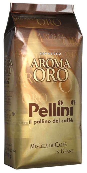 Кофе в зернах Pellini oro 1000 г