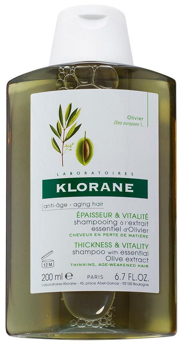 Шампунь Klorane Aging Hair С экстрактом оливы 200 мл фото
