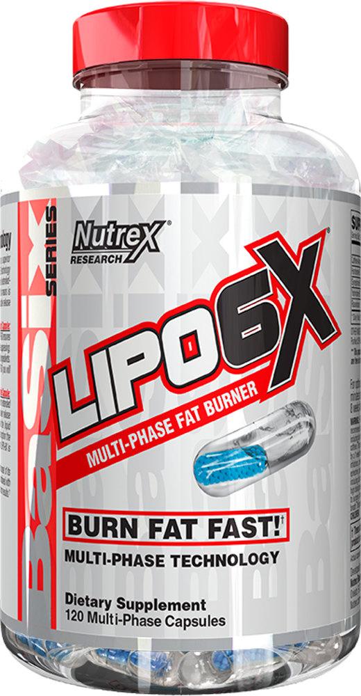 Жиросжигатель Nutrex Lipo 6X 120 капс.