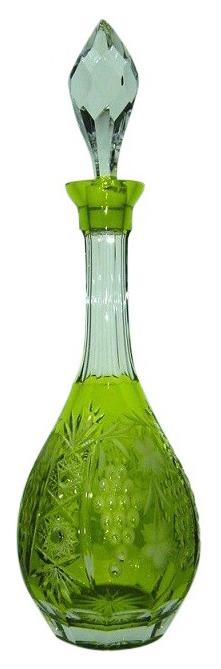 Декантер для вина Ajka Crystal Grape reseda/64569