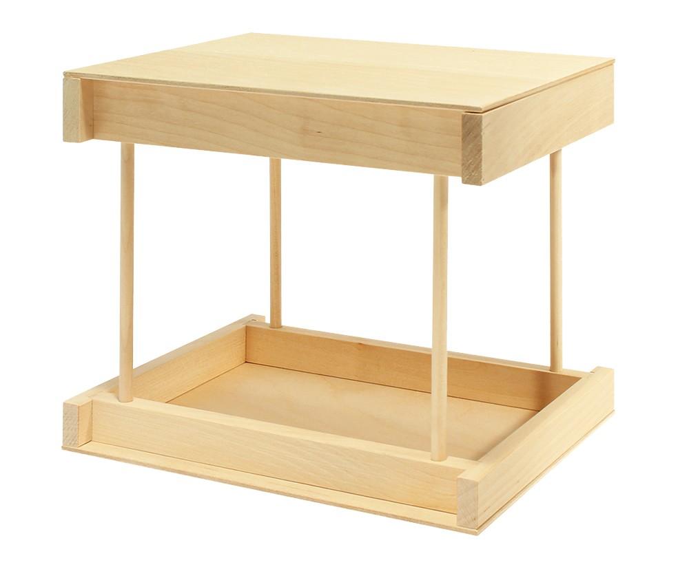 Деревянный конструктор кормушка для птиц Пелси \
