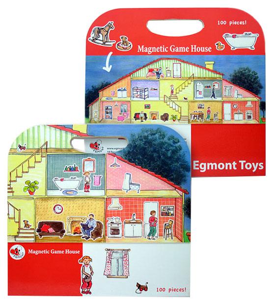 Купить Магнитная игра Egmont Toys Дом, Семейные настольные игры