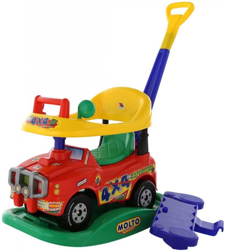 Купить Каталка детская Molto Автомобиль джип каталка викинг 2, Машинки каталки