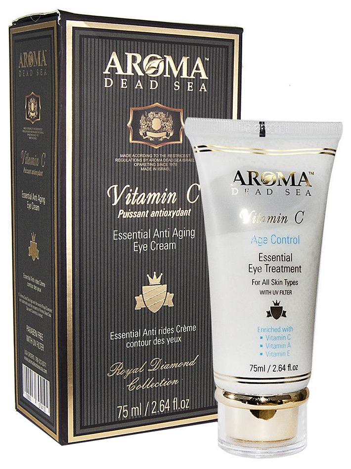 Крем для глаз Aroma Dead Sea Essential Anti-Aging Eye Cream Vitamin C 75 мл