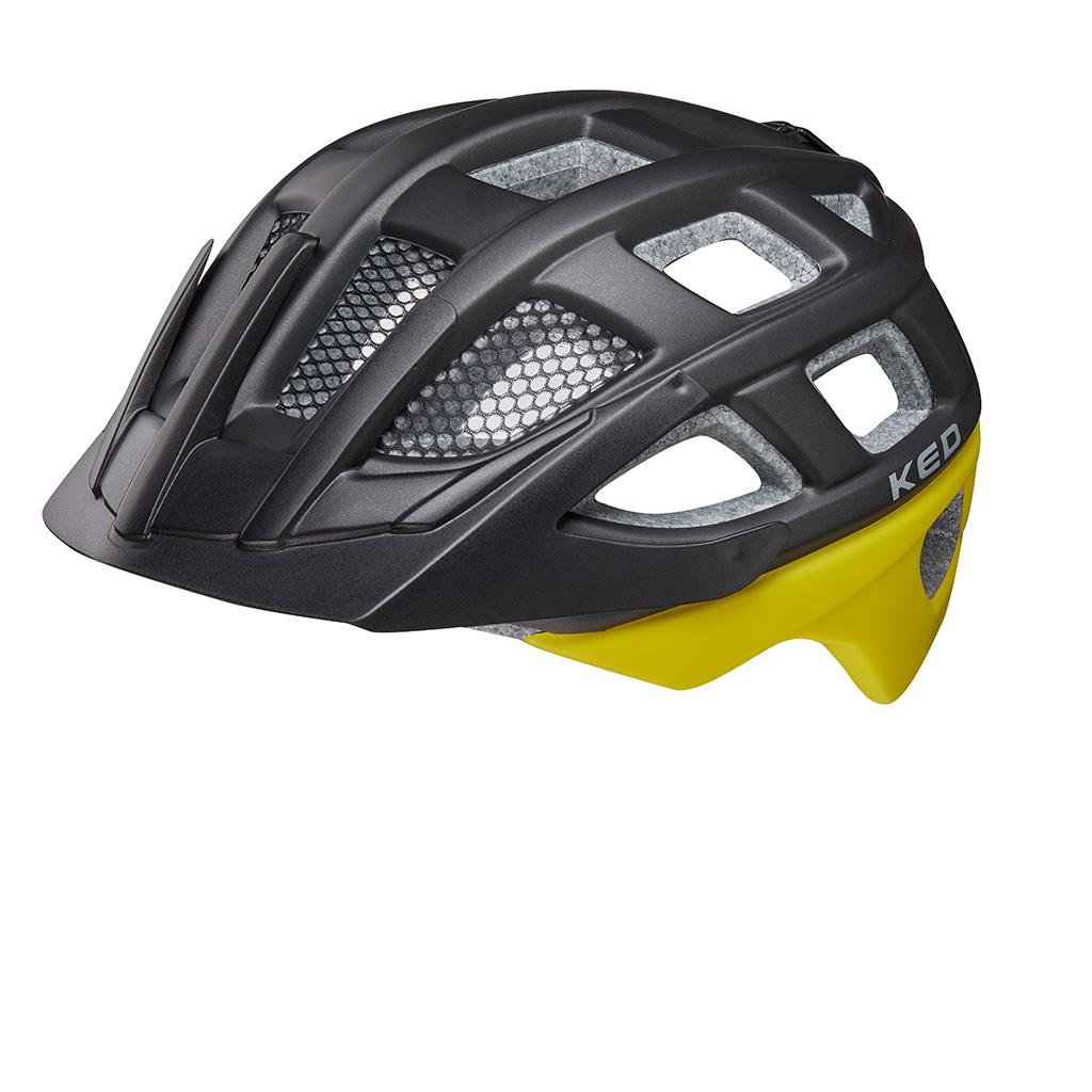 Шлем детский KED Kailu Black Yellow Matt