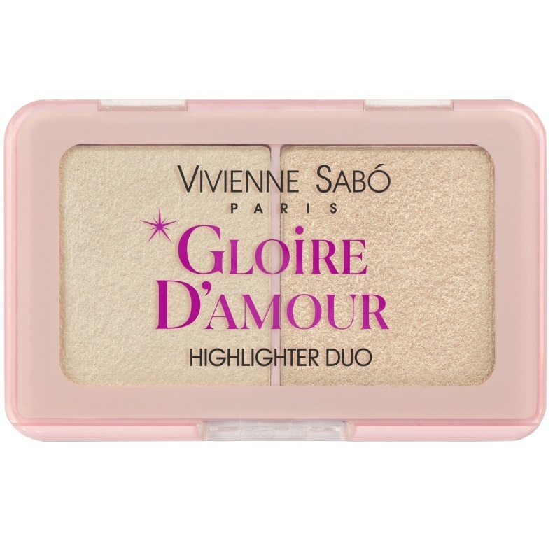 Палетка хайлайтеров Vivienne Sabo Gloire d'amour мини