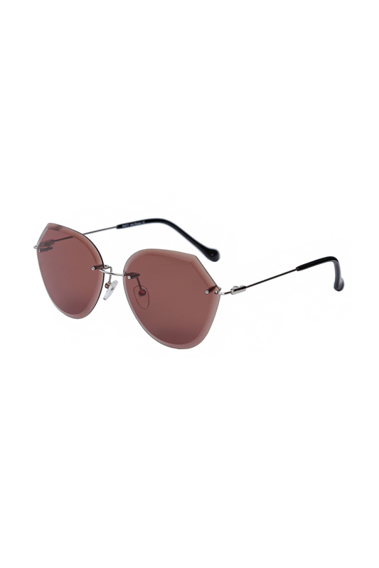 Солнцезащитные очки женские FABRETTI E294951-2 серые фото