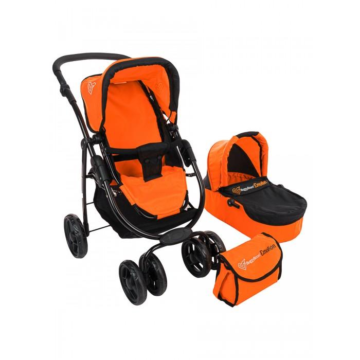 Коляска для куклы 2 в 1 Buggy Boom Amidea 9000 оранжевая
