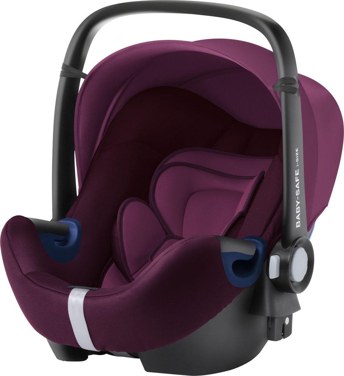 Детское автокресло Britax Romer Baby-Safe2 i-Size, Burgundy Red Trendline