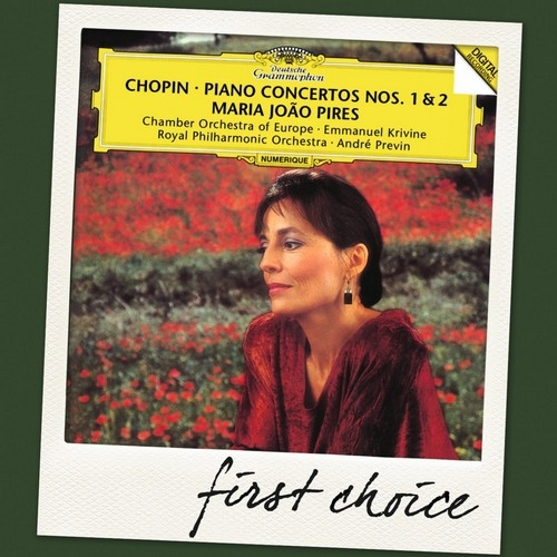Аудио диск Pires, Maria Joao Chopin: Piano Concertos Nos.1 #and# 2