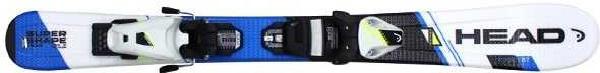 Горные лыжи Head Supershape Team R SLR 2 + SLR 7.5 AC 2017, 127 см фото