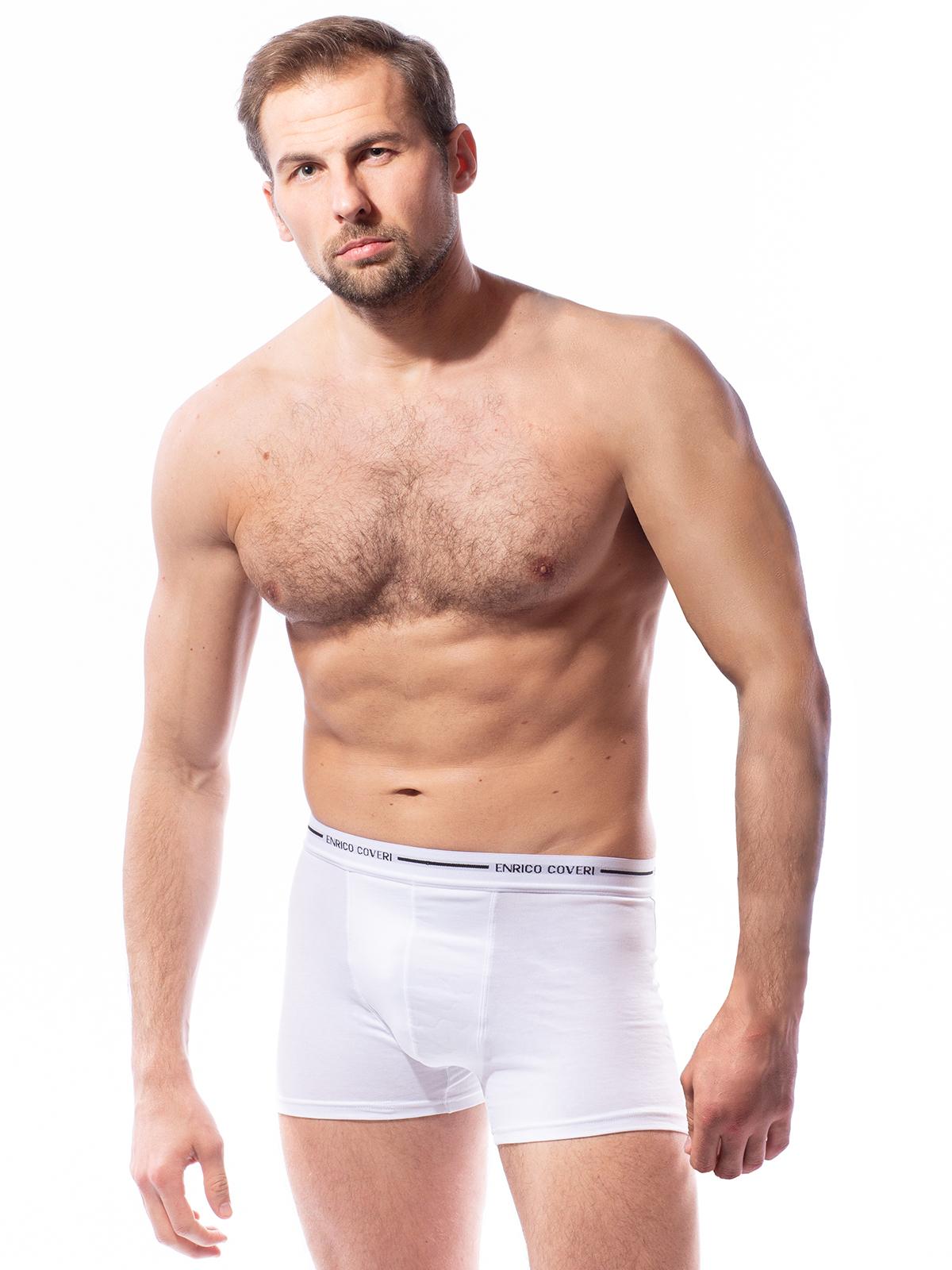 Трусы боксеры мужские Enrico Coveri белые XL