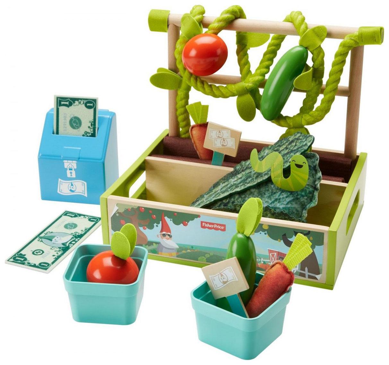 Купить Игровой набор Фермер Fisher-Price, Игрушечные продукты