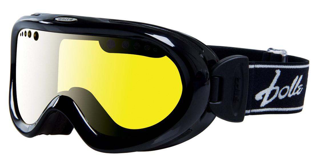 Горнолыжная маска Bolle Nebula 2016 Shiny Black/Lemon