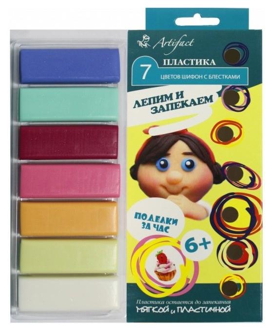 Купить Набор для творчества ARTIFACT 7507-59 7 цветов Шифон с блестками, Рукоделие