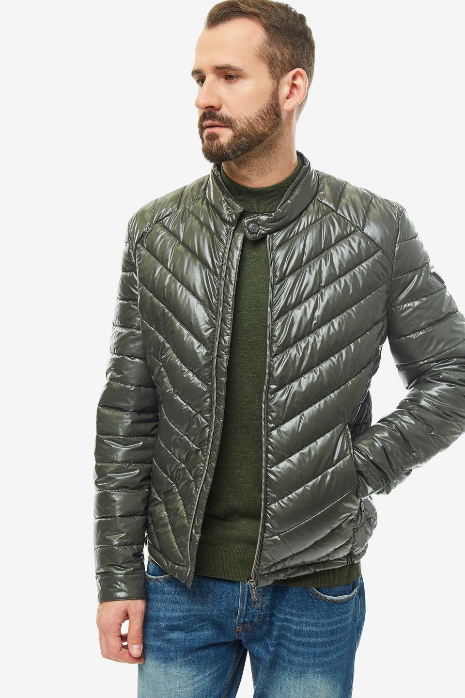 Куртка мужская Guess M94L05-WC270-G8G9 хаки 2XL