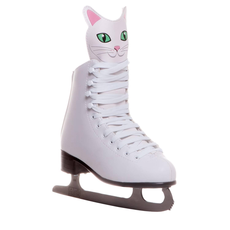 Коньки фигурные Alpha Caprice Kitty белые, 30 фото