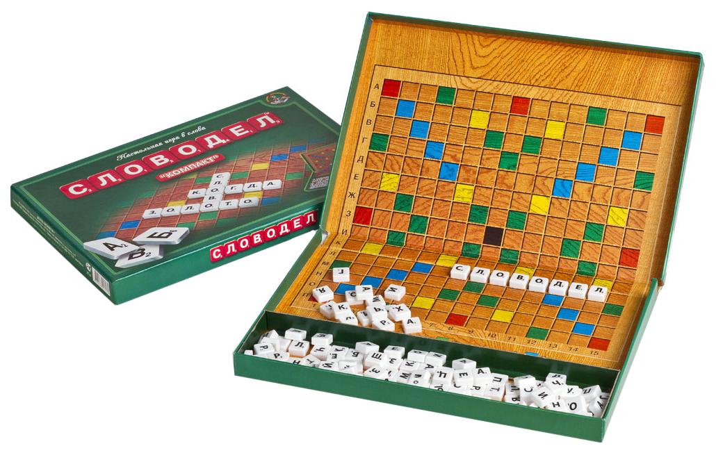 Купить Настольная игра в слова Десятое королевство Словодел Компакт 01357ДК, Десятое Королевство,