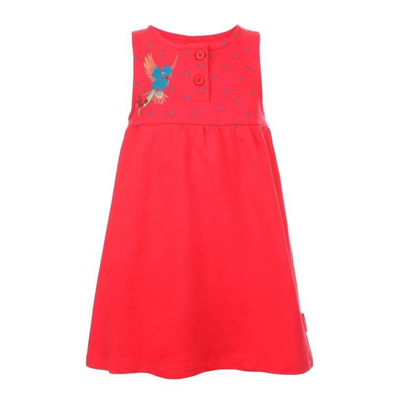 Купить Сарафан KOGANKIDS, цв. красный, 128 р-р, Детские платья и сарафаны