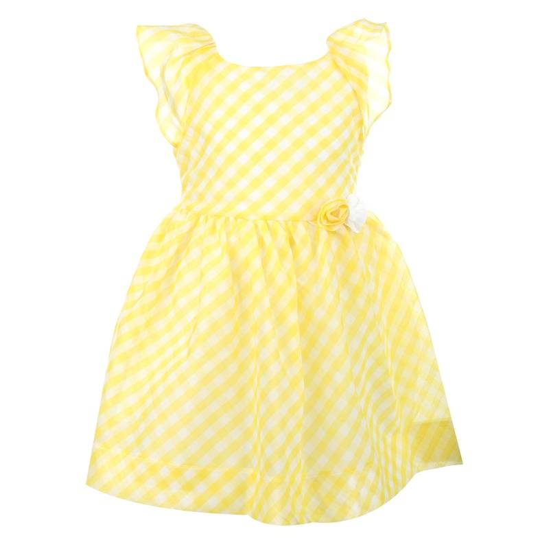 Платье MAYORAL, цв. желтый, 134 р-р, Детские платья и сарафаны  - купить со скидкой