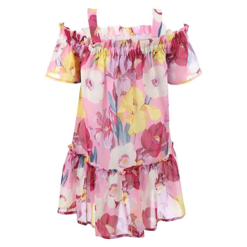 Купить Платье MAYORAL, цв. малиновый, 140 р-р, Детские платья и сарафаны