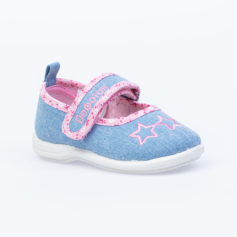 Текстильная обувь для девочек Котофей, 21 р-р