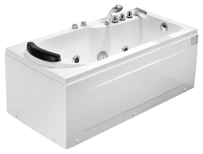 Акриловая ванна gemy g9010 b l фото
