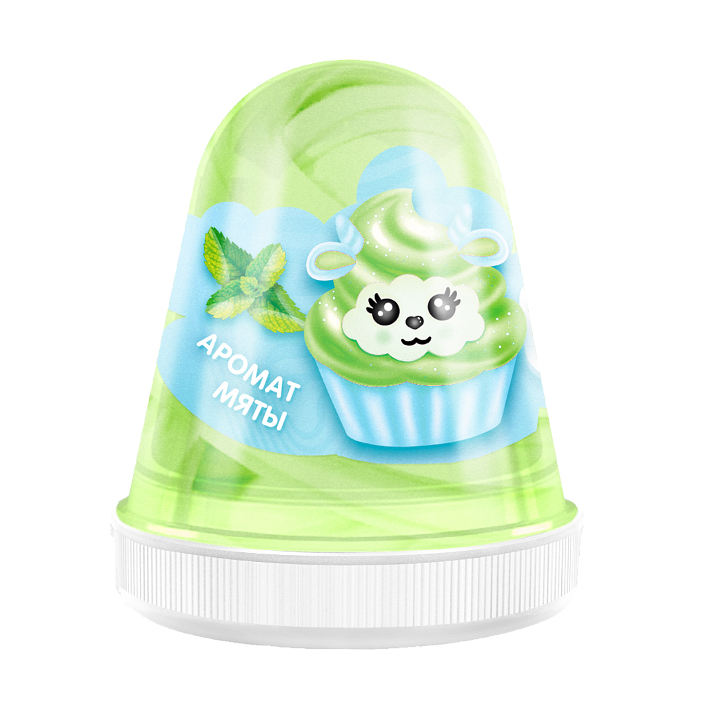 Слайм MONSTER'S SLIME FL012 Fluffy Мята зеленый