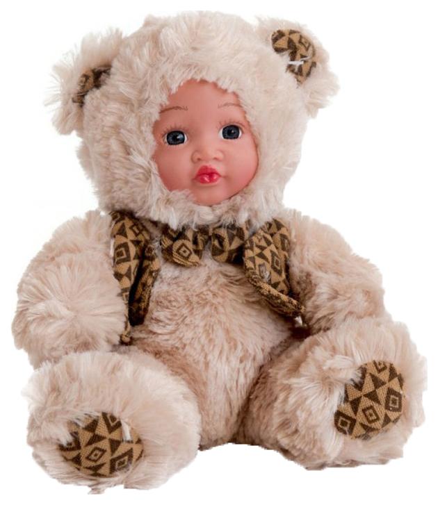 Купить Кукла Anna De Wailly . Медвежонок в костюмчике, 20 см, Город Игр, Классические куклы