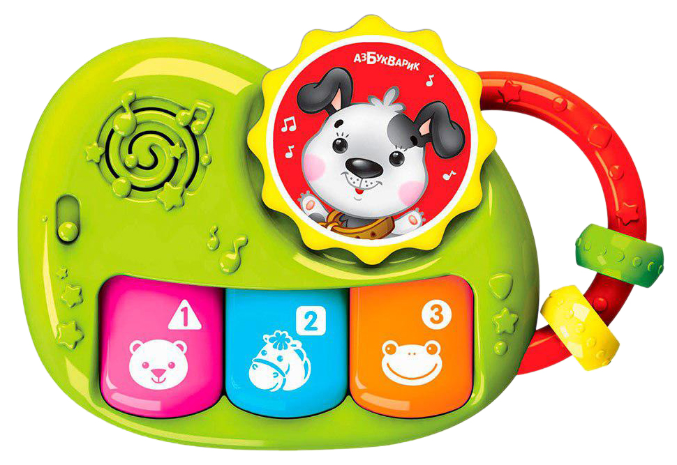 Интерактивная игрушка Азбукварик Пианино Чудесенка. Щенок