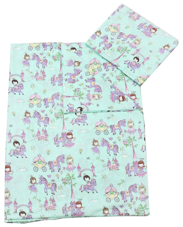 Комплект детского постельного белья AmaroBaby TIME TO SLEEP Принцесса Изумруд