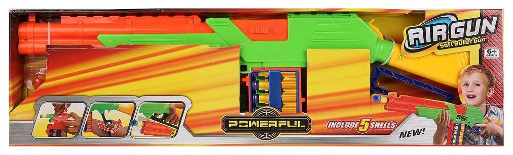Купить Ружье с мягкими пулями на присосках Shantou Gepai с кеглями ZY840486, Стрелковое игрушечное оружие