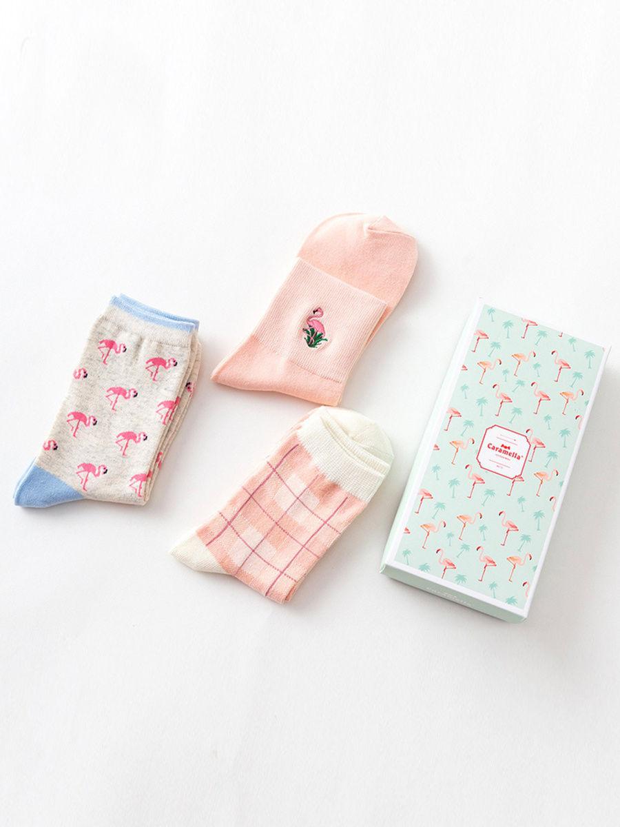 Подарочный набор носков женский Caramella C515153 разноцветный 34-39