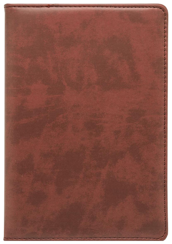 Ежедневник датированный на 2020 год Lord, A5, 186 листов, линия, коричневый, золотой срез