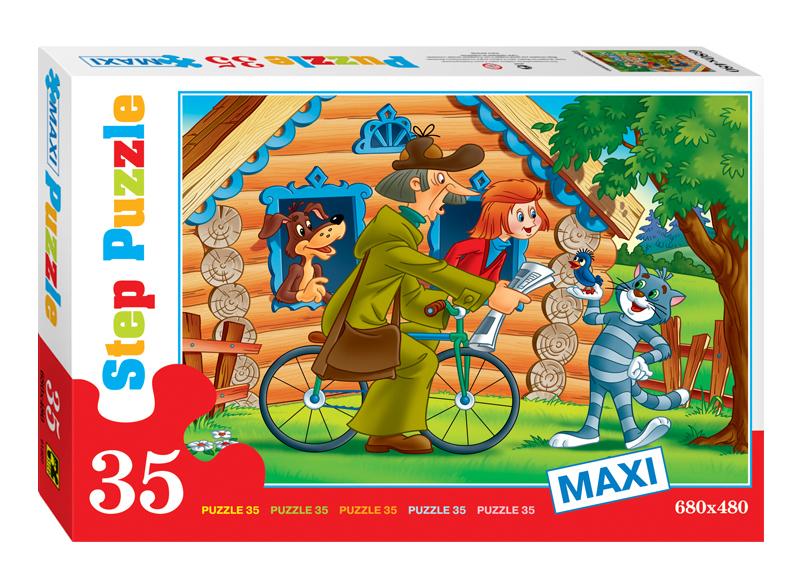 Купить Пазл Step Puzzle 35 MAXI Простоквашино, Пазлы