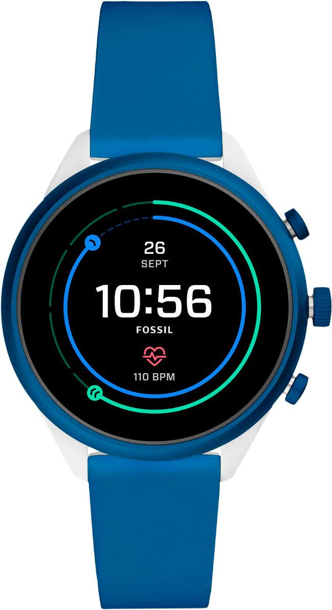 Смарт часы Fossil FTW6051 White/Blue